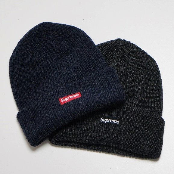 Supreme Heather Loose Guage Beanie
