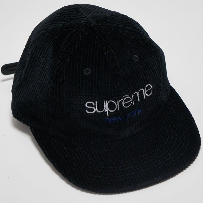 Supreme Waffle Cord Classic Logo 6-Panel<img class='new_mark_img2' src='https://img.shop-pro.jp/img/new/icons47.gif' style='border:none;display:inline;margin:0px;padding:0px;width:auto;' />