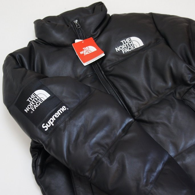 Supreme The North Face Leather Nuptse Jacket <img class='new_mark_img2' src='https://img.shop-pro.jp/img/new/icons47.gif' style='border:none;display:inline;margin:0px;padding:0px;width:auto;' />