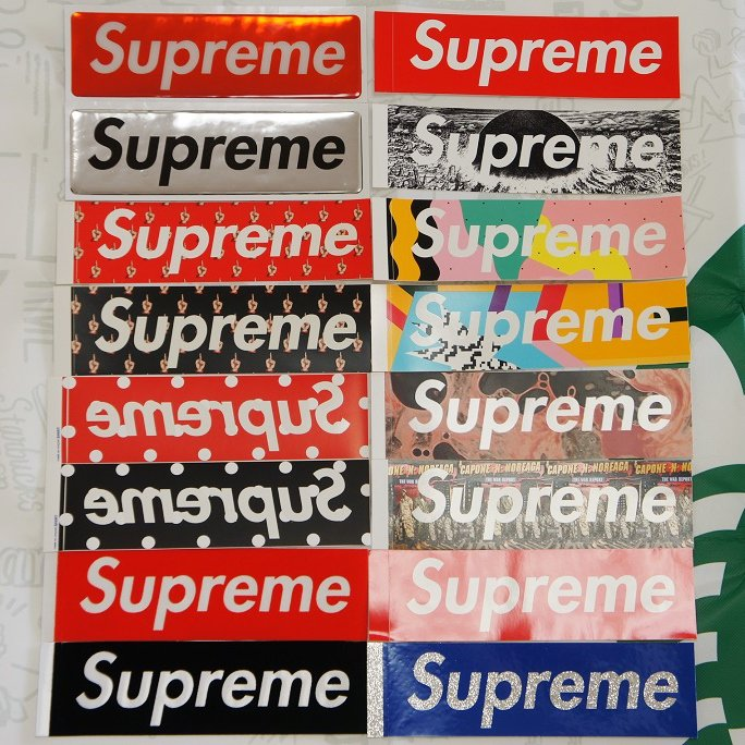 Supreme ボックスロゴステッカーセット<img class='new_mark_img2' src='//img.shop-pro.jp/img/new/icons15.gif' style='border:none;display:inline;margin:0px;padding:0px;width:auto;' />