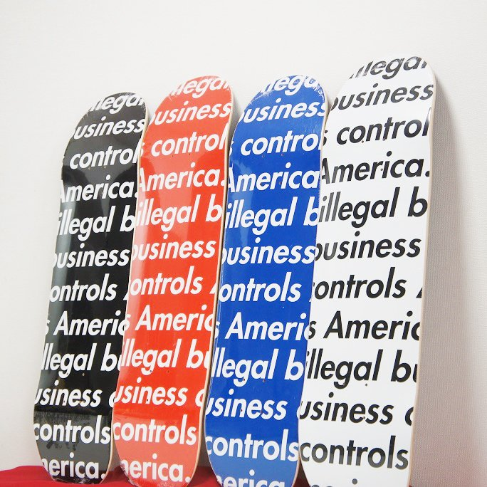 Supreme illegal business Skateboard<img class='new_mark_img2' src='//img.shop-pro.jp/img/new/icons15.gif' style='border:none;display:inline;margin:0px;padding:0px;width:auto;' />