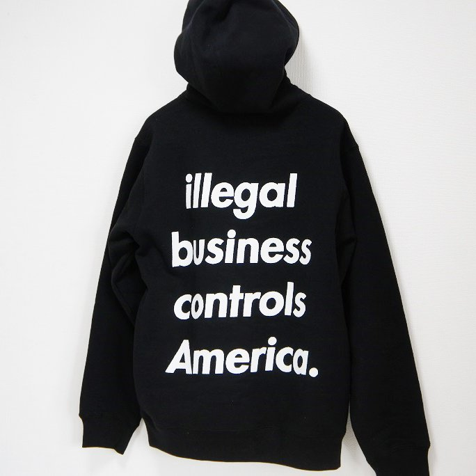 Supreme illegal business Hooded Sweatshirt<img class='new_mark_img2' src='//img.shop-pro.jp/img/new/icons47.gif' style='border:none;display:inline;margin:0px;padding:0px;width:auto;' />