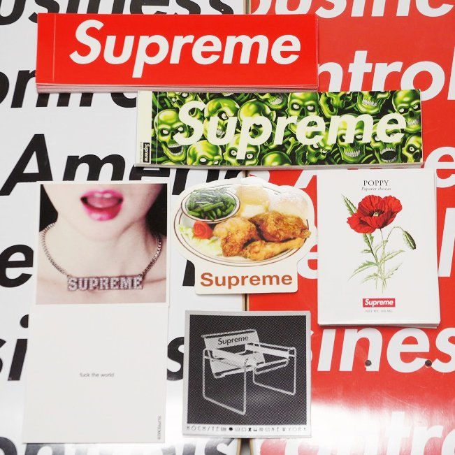 Supreme Sticker 2018 SS Week1