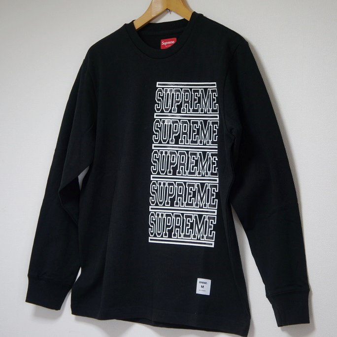 Supreme Stacked L/S Top<img class='new_mark_img2' src='//img.shop-pro.jp/img/new/icons47.gif' style='border:none;display:inline;margin:0px;padding:0px;width:auto;' />