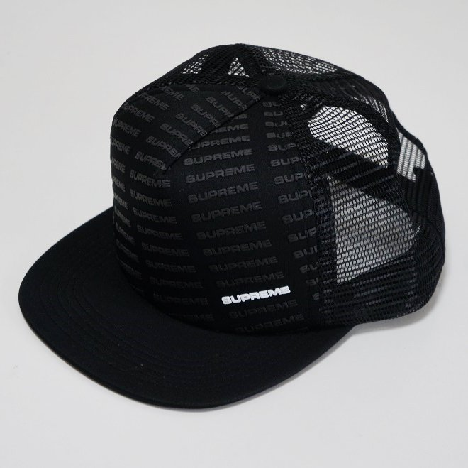 Supreme Repeat Mesh Back 5-Panel<img class='new_mark_img2' src='//img.shop-pro.jp/img/new/icons47.gif' style='border:none;display:inline;margin:0px;padding:0px;width:auto;' />