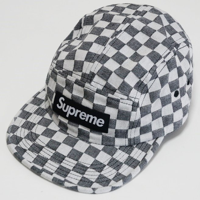 Supreme Checkerboard Camp Cap<img class='new_mark_img2' src='//img.shop-pro.jp/img/new/icons15.gif' style='border:none;display:inline;margin:0px;padding:0px;width:auto;' />