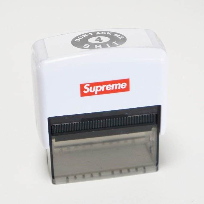 Supreme Don't Ask Me 4 Shit Stamp <img class='new_mark_img2' src='https://img.shop-pro.jp/img/new/icons47.gif' style='border:none;display:inline;margin:0px;padding:0px;width:auto;' />