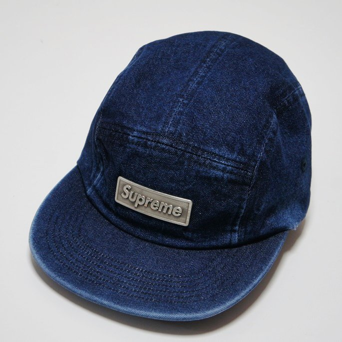 Supreme Metal Plate Camp Cap <img class='new_mark_img2' src='//img.shop-pro.jp/img/new/icons16.gif' style='border:none;display:inline;margin:0px;padding:0px;width:auto;' />