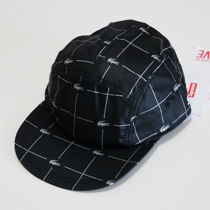 Supreme LACOSTE Grid Nylon Camp Cap