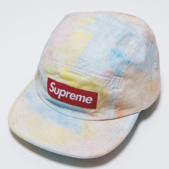 Supreme Multicolor Denim Camp Cap<img class='new_mark_img2' src='//img.shop-pro.jp/img/new/icons16.gif' style='border:none;display:inline;margin:0px;padding:0px;width:auto;' />