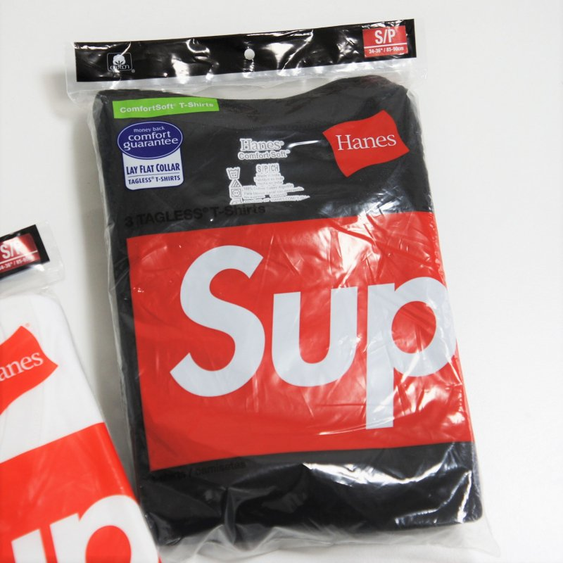 Supreme Hanes Tee<img class='new_mark_img2' src='//img.shop-pro.jp/img/new/icons16.gif' style='border:none;display:inline;margin:0px;padding:0px;width:auto;' />