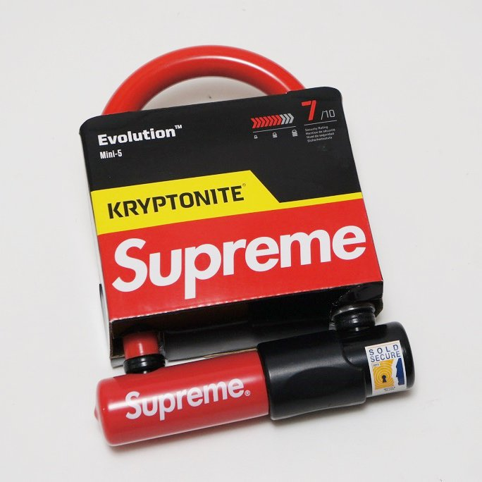 Supreme Kryptonite U - Lock<img class='new_mark_img2' src='//img.shop-pro.jp/img/new/icons47.gif' style='border:none;display:inline;margin:0px;padding:0px;width:auto;' />