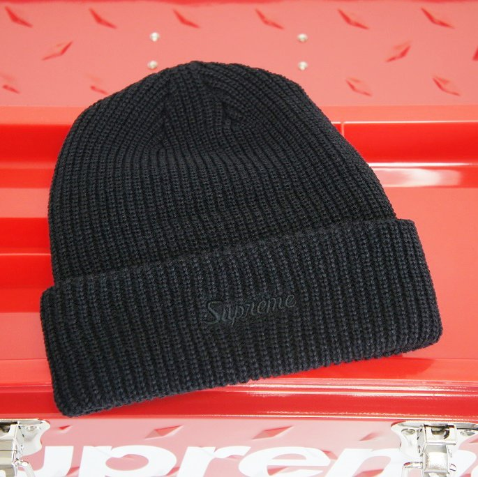 Supreme Loose Gauge Beanie<img class='new_mark_img2' src='//img.shop-pro.jp/img/new/icons15.gif' style='border:none;display:inline;margin:0px;padding:0px;width:auto;' />