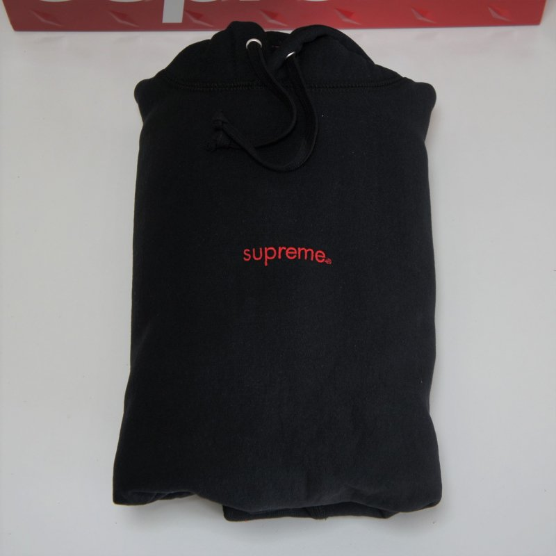 Supreme Trademark Hooded Sweatshirt