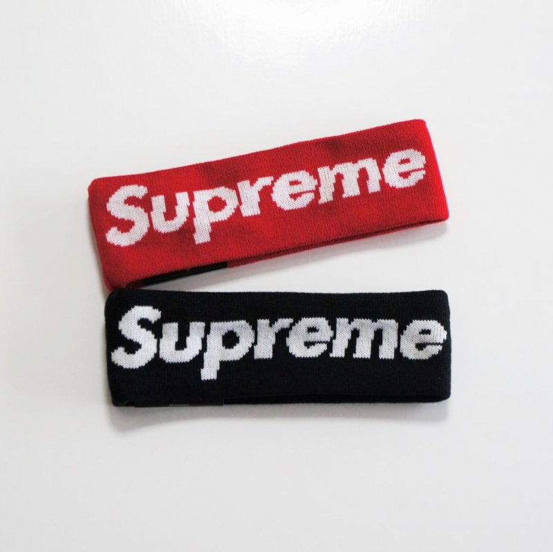 Supreme New Era Big Logo Headband<img class='new_mark_img2' src='//img.shop-pro.jp/img/new/icons15.gif' style='border:none;display:inline;margin:0px;padding:0px;width:auto;' />