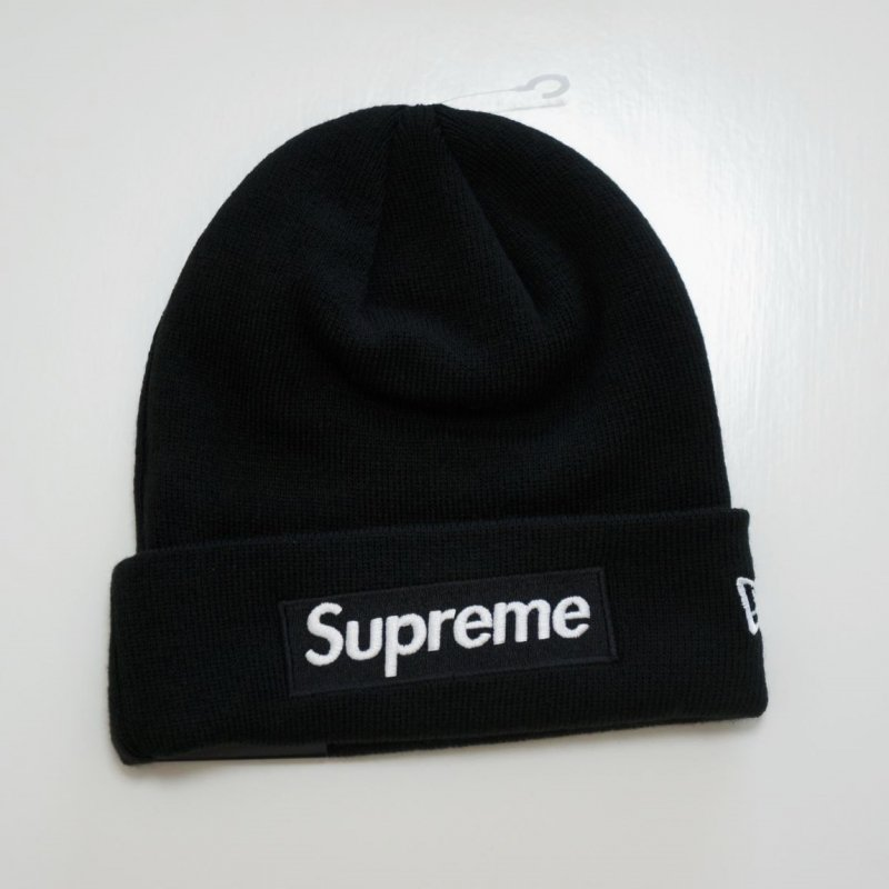 Supreme New Era Box Logo Beanie<img class='new_mark_img2' src='//img.shop-pro.jp/img/new/icons15.gif' style='border:none;display:inline;margin:0px;padding:0px;width:auto;' />