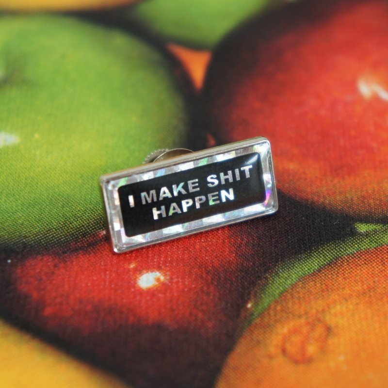Supreme I Make Shit Happen Pin <img class='new_mark_img2' src='https://img.shop-pro.jp/img/new/icons15.gif' style='border:none;display:inline;margin:0px;padding:0px;width:auto;' />