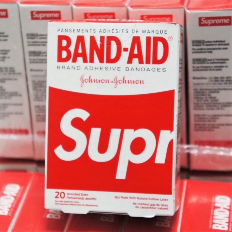 Supreme BAND-AID Brand<img class='new_mark_img2' src='//img.shop-pro.jp/img/new/icons15.gif' style='border:none;display:inline;margin:0px;padding:0px;width:auto;' />