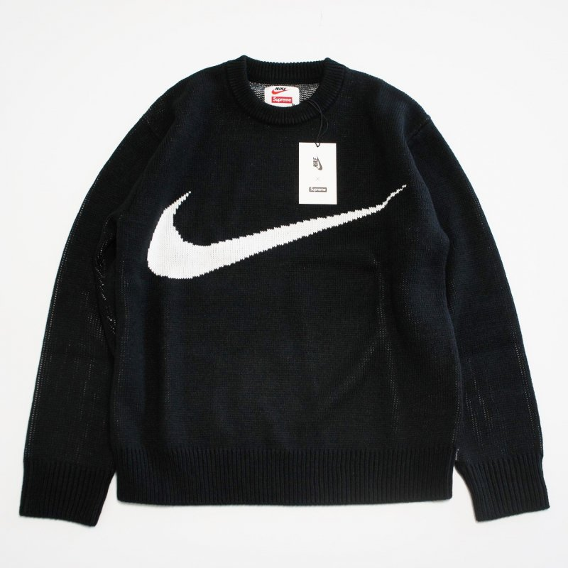 Supreme Nike Swoosh Sweater<img class='new_mark_img2' src='https://img.shop-pro.jp/img/new/icons16.gif' style='border:none;display:inline;margin:0px;padding:0px;width:auto;' />