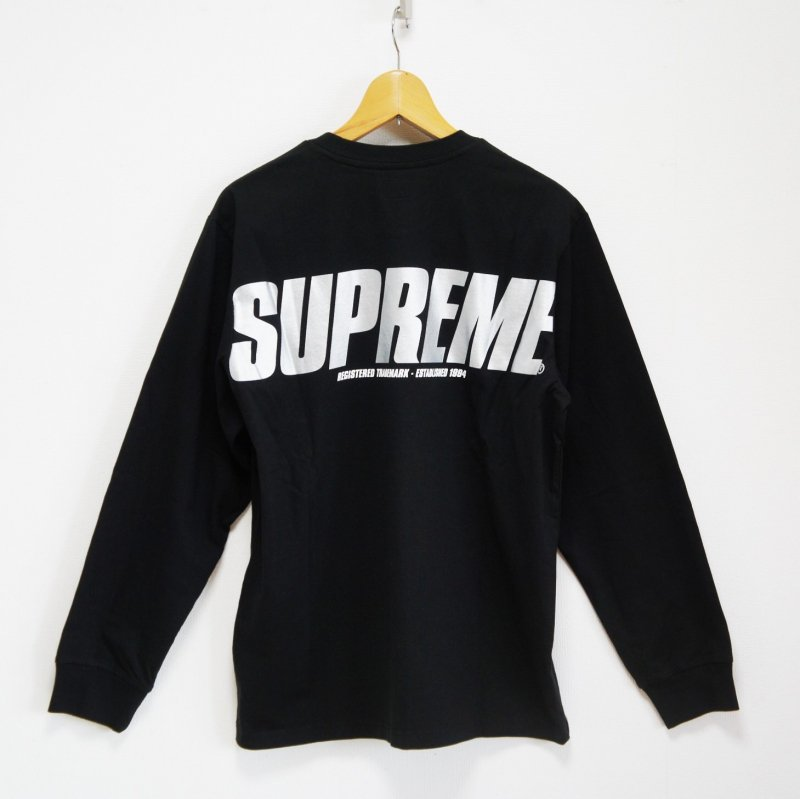 Supreme Trademark L/S Top<img class='new_mark_img2' src='//img.shop-pro.jp/img/new/icons15.gif' style='border:none;display:inline;margin:0px;padding:0px;width:auto;' />