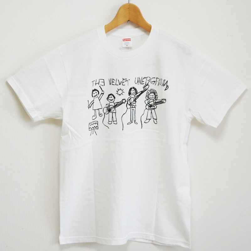 Supreme The Velvet Underground Drawing Tee<img class='new_mark_img2' src='//img.shop-pro.jp/img/new/icons15.gif' style='border:none;display:inline;margin:0px;padding:0px;width:auto;' />