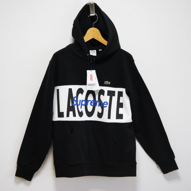 Supreme LACOSTE Logo Panel Hooded Sweatshirt<img class='new_mark_img2' src='//img.shop-pro.jp/img/new/icons15.gif' style='border:none;display:inline;margin:0px;padding:0px;width:auto;' />