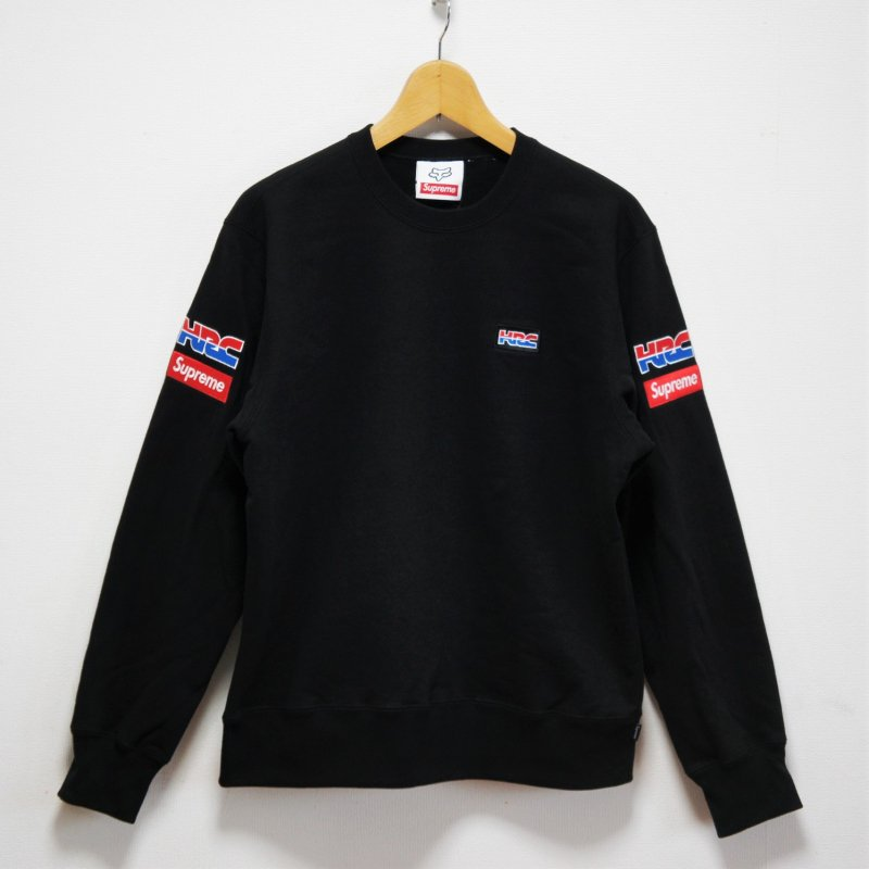 Supreme Honda Fox Racing Crewneck<img class='new_mark_img2' src='https://img.shop-pro.jp/img/new/icons15.gif' style='border:none;display:inline;margin:0px;padding:0px;width:auto;' />