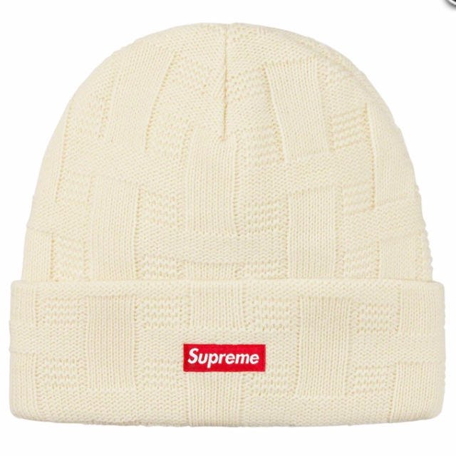Supreme Basket Weave Beanie<img class='new_mark_img2' src='https://img.shop-pro.jp/img/new/icons15.gif' style='border:none;display:inline;margin:0px;padding:0px;width:auto;' />