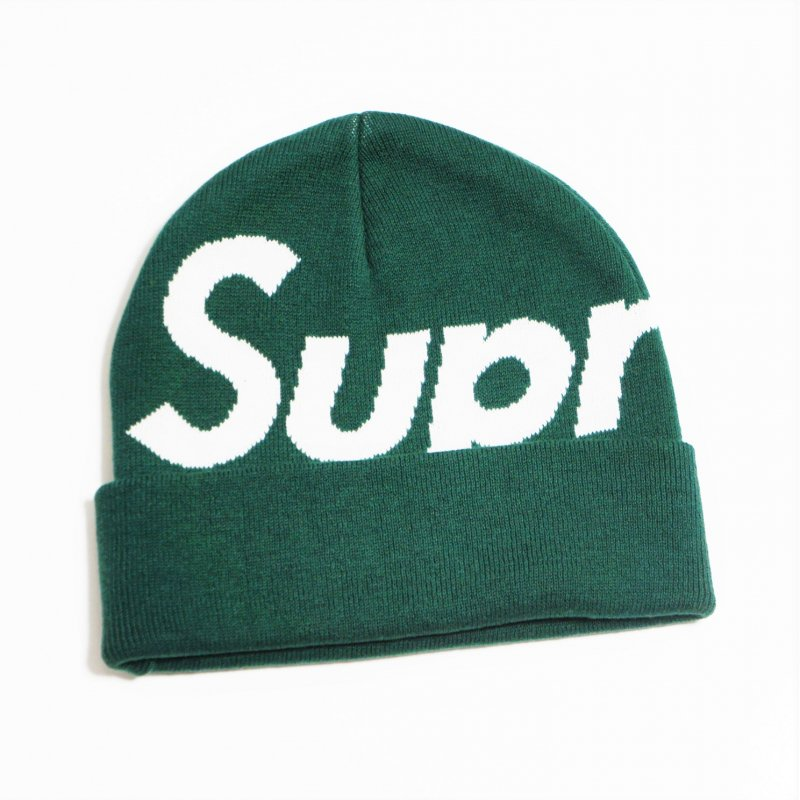 Supreme Big Logo Beanie<img class='new_mark_img2' src='https://img.shop-pro.jp/img/new/icons15.gif' style='border:none;display:inline;margin:0px;padding:0px;width:auto;' />