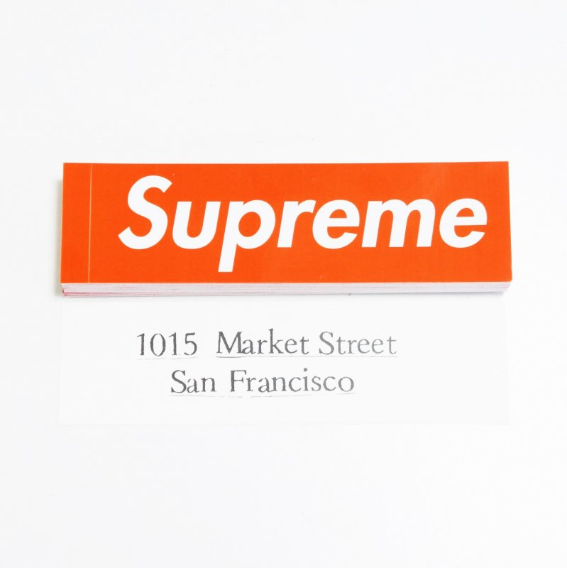 Supreme San Francisco Box Logo Sticker<img class='new_mark_img2' src='//img.shop-pro.jp/img/new/icons15.gif' style='border:none;display:inline;margin:0px;padding:0px;width:auto;' />
