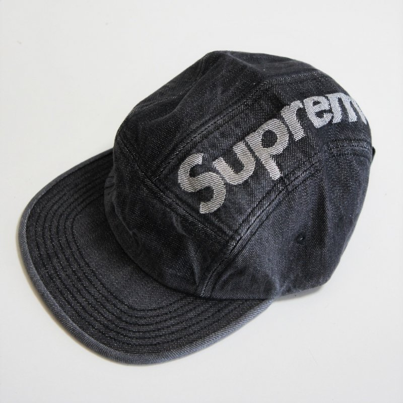 Supreme Top Logo Denim Camp Cap<img class='new_mark_img2' src='//img.shop-pro.jp/img/new/icons15.gif' style='border:none;display:inline;margin:0px;padding:0px;width:auto;' />