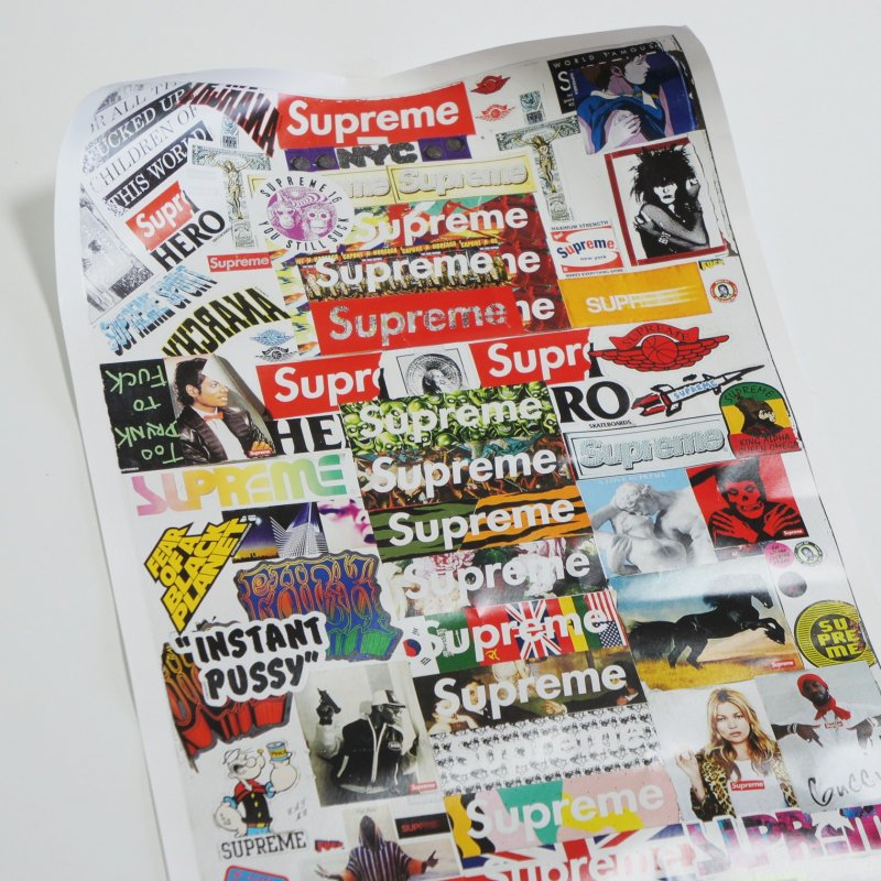 Supreme (Vol 2) Book Poster<img class='new_mark_img2' src='https://img.shop-pro.jp/img/new/icons15.gif' style='border:none;display:inline;margin:0px;padding:0px;width:auto;' />