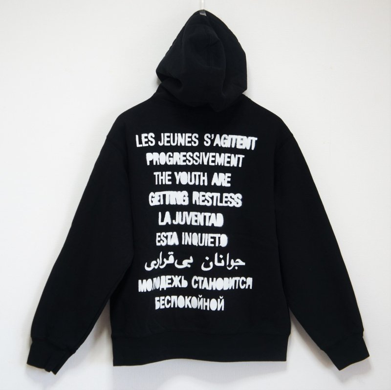 Supreme Restless Youth Hooded Sweatshirt<img class='new_mark_img2' src='https://img.shop-pro.jp/img/new/icons15.gif' style='border:none;display:inline;margin:0px;padding:0px;width:auto;' />