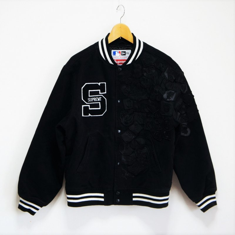 Supreme New Era MLB Varsity Jacket<img class='new_mark_img2' src='https://img.shop-pro.jp/img/new/icons15.gif' style='border:none;display:inline;margin:0px;padding:0px;width:auto;' />