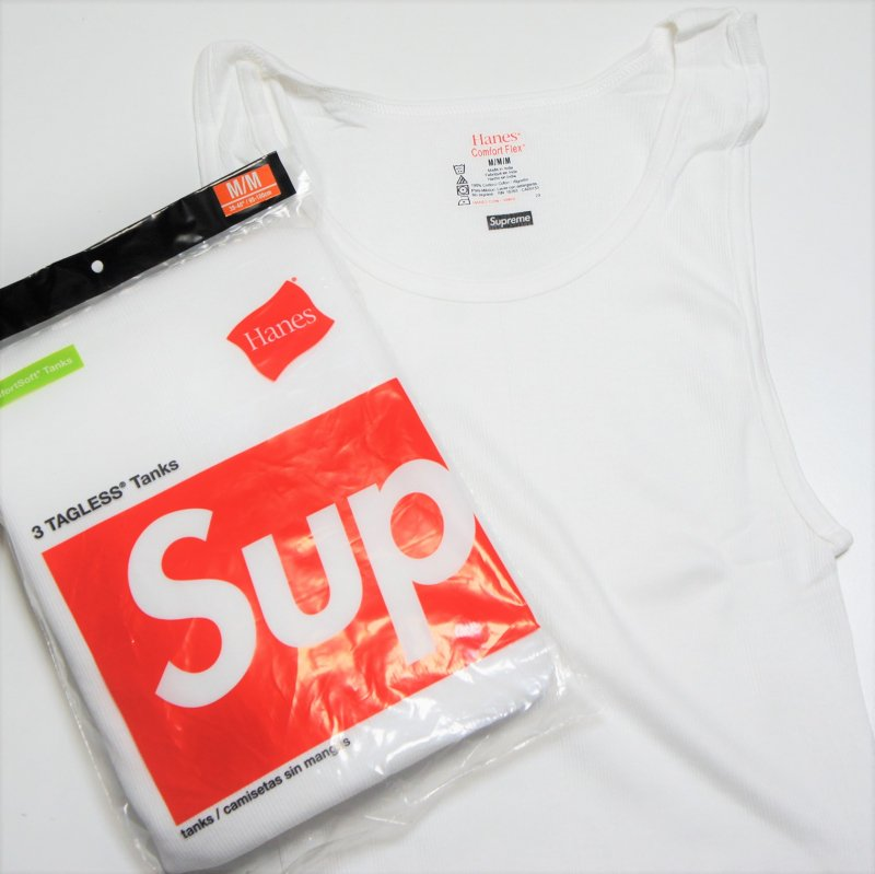 Supreme Hanes Tank<img class='new_mark_img2' src='//img.shop-pro.jp/img/new/icons15.gif' style='border:none;display:inline;margin:0px;padding:0px;width:auto;' />