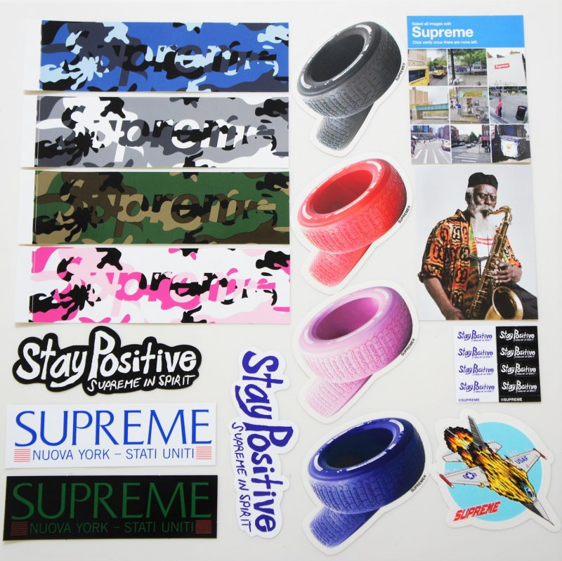 Supreme Sticker Set 2020FW Week1<img class='new_mark_img2' src='https://img.shop-pro.jp/img/new/icons15.gif' style='border:none;display:inline;margin:0px;padding:0px;width:auto;' />