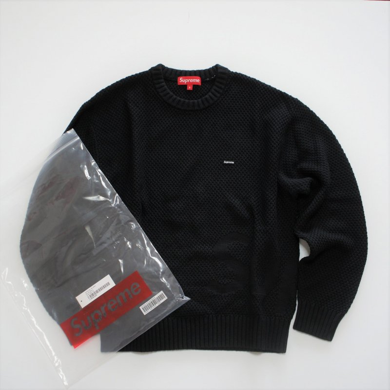 Supreme Textured Small Box Sweater<img class='new_mark_img2' src='https://img.shop-pro.jp/img/new/icons15.gif' style='border:none;display:inline;margin:0px;padding:0px;width:auto;' />