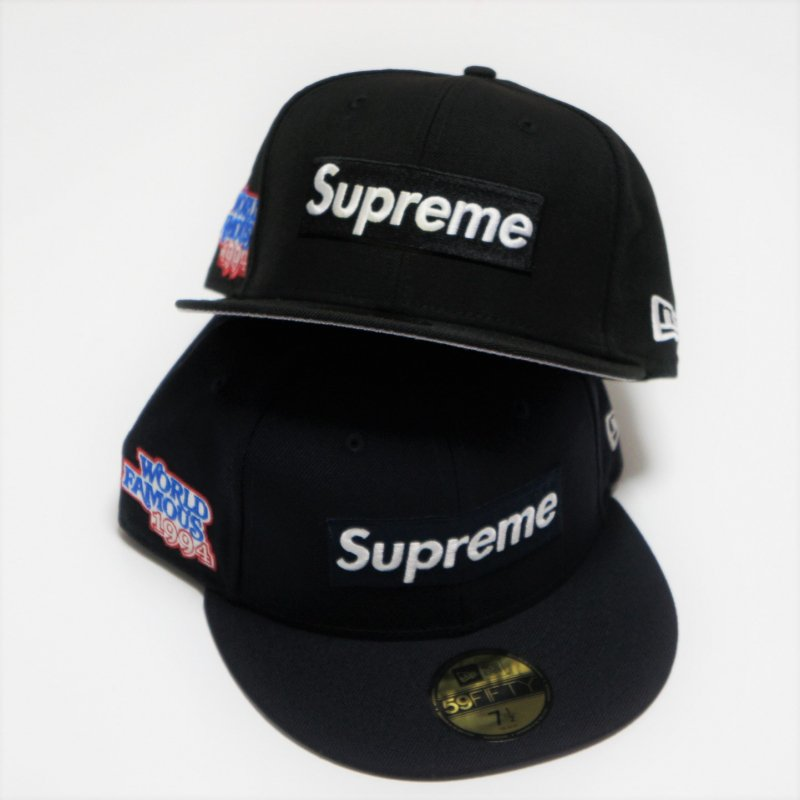 Supreme World Famous Box Logo New Era<img class='new_mark_img2' src='https://img.shop-pro.jp/img/new/icons15.gif' style='border:none;display:inline;margin:0px;padding:0px;width:auto;' />