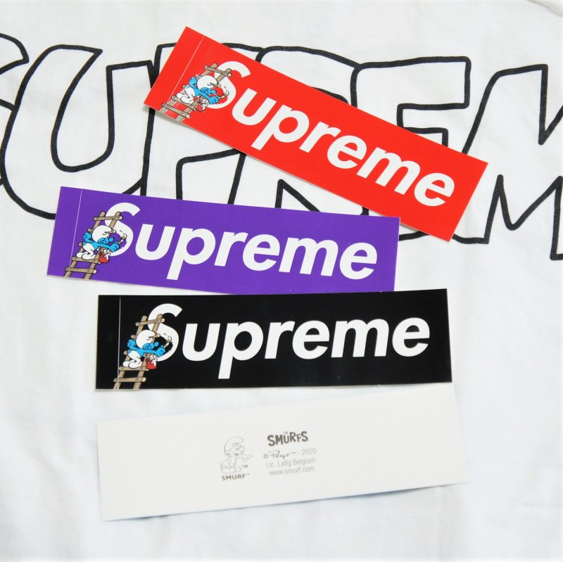 Supreme Smurfs BoxLogo Sticker Set<img class='new_mark_img2' src='https://img.shop-pro.jp/img/new/icons15.gif' style='border:none;display:inline;margin:0px;padding:0px;width:auto;' />
