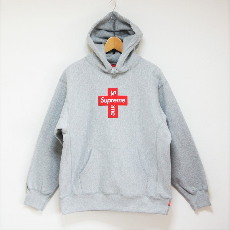 Supreme Cross Box Logo Hooded Sweatshirt <img class='new_mark_img2' src='https://img.shop-pro.jp/img/new/icons15.gif' style='border:none;display:inline;margin:0px;padding:0px;width:auto;' />