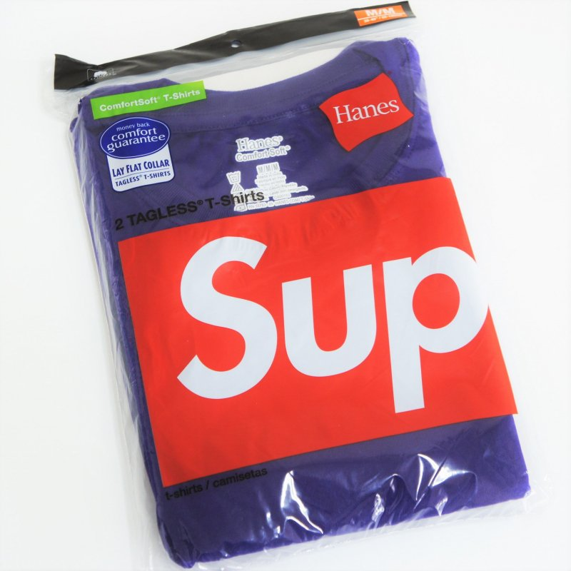 Supreme Hanes Tagless Tees<img class='new_mark_img2' src='https://img.shop-pro.jp/img/new/icons15.gif' style='border:none;display:inline;margin:0px;padding:0px;width:auto;' />