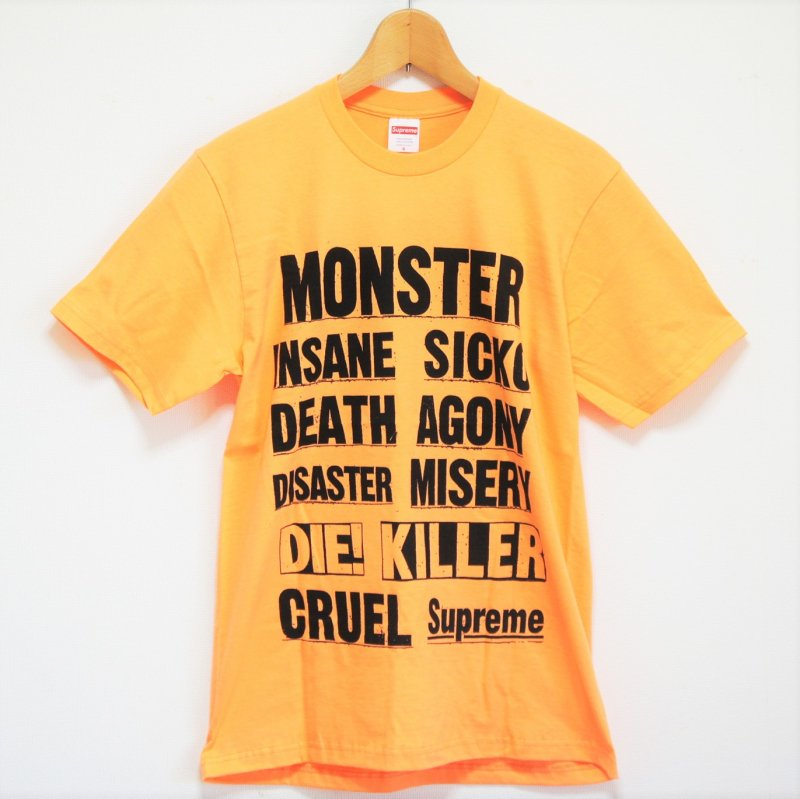 Supreme Monster Tee<img class='new_mark_img2' src='https://img.shop-pro.jp/img/new/icons15.gif' style='border:none;display:inline;margin:0px;padding:0px;width:auto;' />