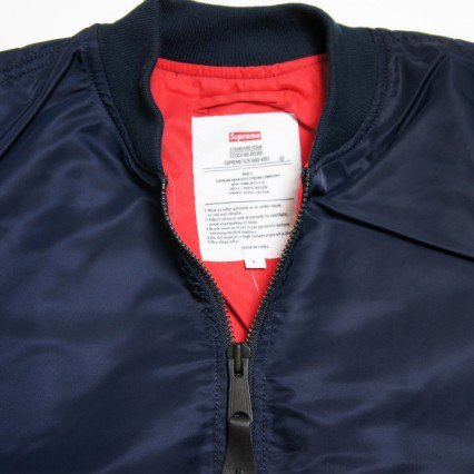 Supreme MA-1 Jacket<img class='new_mark_img2' src='//img.shop-pro.jp/img/new/icons47.gif' style='border:none;display:inline;margin:0px;padding:0px;width:auto;' />