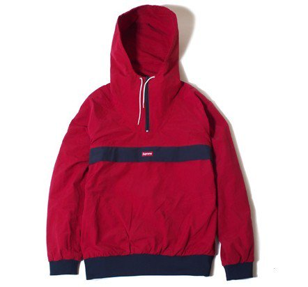 Supreme x Chest Stripe Pullover<img class='new_mark_img2' src='https://img.shop-pro.jp/img/new/icons15.gif' style='border:none;display:inline;margin:0px;padding:0px;width:auto;' />