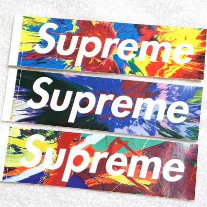 Supreme - Damien Hirst Box Logo<img class='new_mark_img2' src='https://img.shop-pro.jp/img/new/icons47.gif' style='border:none;display:inline;margin:0px;padding:0px;width:auto;' />