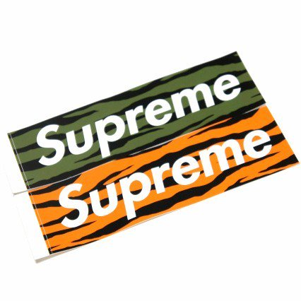 Supreme Zebra Box Logo Sticker<img class='new_mark_img2' src='//img.shop-pro.jp/img/new/icons47.gif' style='border:none;display:inline;margin:0px;padding:0px;width:auto;' />