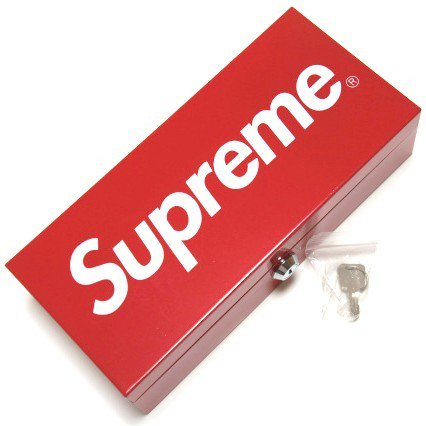 Supreme Metal Lock Box
