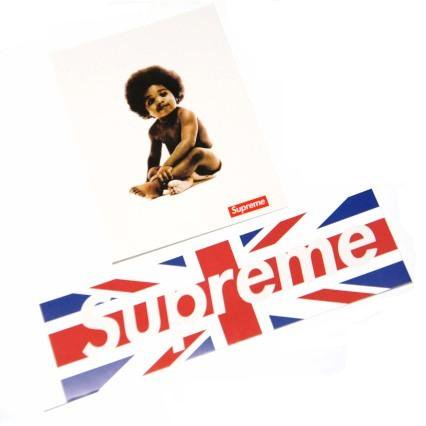 Supreme Union Jack Box Logo & Ready To Die Sticker<img class='new_mark_img2' src='https://img.shop-pro.jp/img/new/icons47.gif' style='border:none;display:inline;margin:0px;padding:0px;width:auto;' />