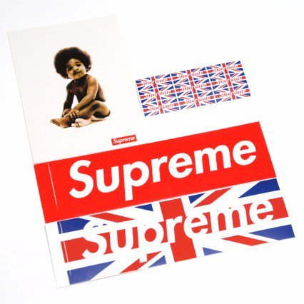 Supreme 2011AW Sticker Set<img class='new_mark_img2' src='//img.shop-pro.jp/img/new/icons47.gif' style='border:none;display:inline;margin:0px;padding:0px;width:auto;' />
