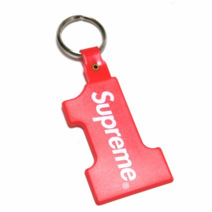 Supreme Number 1 Keychain<img class='new_mark_img2' src='//img.shop-pro.jp/img/new/icons15.gif' style='border:none;display:inline;margin:0px;padding:0px;width:auto;' />